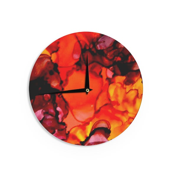 KESS InHouseClaire Day 'Mordor' Wall Clock