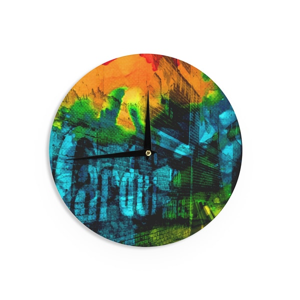 KESS InHouseClaire Day 'Radford' Wall Clock