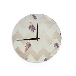 KESS InHouseCatherine McDonald 'Oasis' Wall Clock