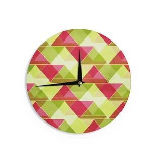 KESS InHouseCatherine McDonald 'Palm Beach' Wall Clock