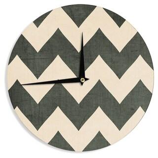 KESS InHouseCatherine McDonald 'Vintage Vinyl' Wall Clock