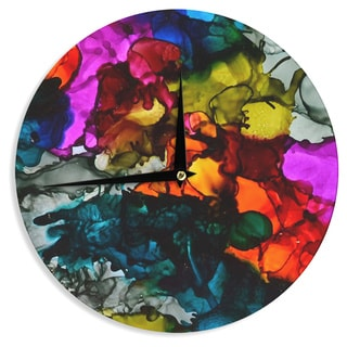 KESS InHouseClaire Day 'Hippie Love Child' Wall Clock