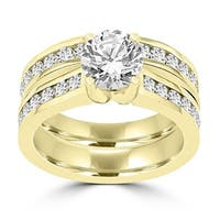La Vita Vital 14K Yellow Gold  Diamond 2.25cts TDW Bridal Set - White G-H