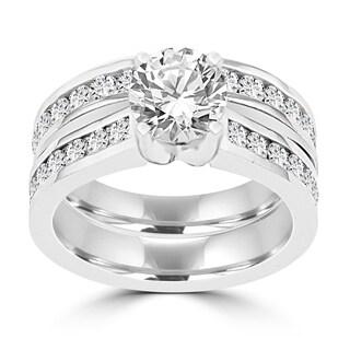 La Vita Vital 14K White Gold Diamond 2.25cts TDW Bridal Set - White G-H