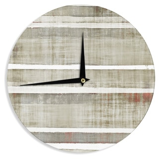 KESS InHouseCarolLynn Tice 'Loving Life' Wall Clock