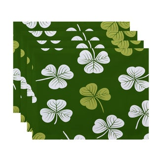 Lucky Holiday Floral Print Place Mat (Set of 4)