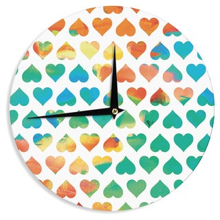 "Kess InHouse Budi Kwan ""Be Mine"" Wall Clock 12"""