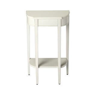 Handmade Butler Wendell Cottage White Console Table (China)