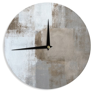 KESS InHouseCarolLynn Tice 'Calm and Neutral' Wall Clock
