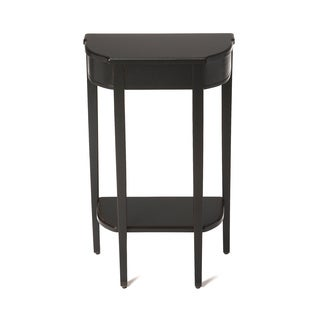 Handmade Butler Wendell Black Licorice Console Table (China)