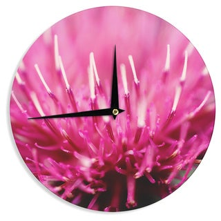 KESS InHouseBeth Engel 'Frosted Tips' Wall Clock