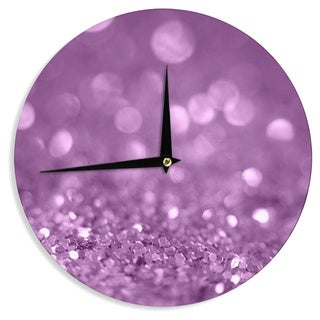 KESS InHouseBeth Engel 'Radiance' Wall Clock