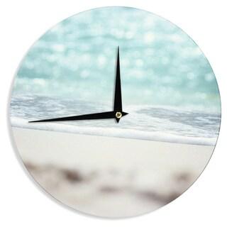 "Kess InHouse Beth Engel ""Serenity"" Wall Clock 12"""