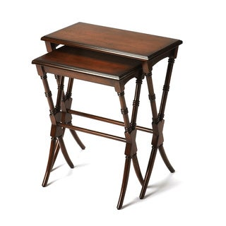 Butler Arabella Antique Cherry Nesting Tables