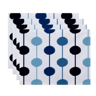 Brady Beads Stripe Print Place Mat (Set of 4)