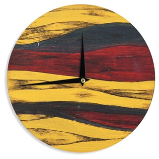 "Kess InHouse Brittany Guarino ""Sheets"" Wall Clock 12"""