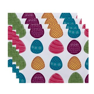 Eggs-ellent! Holiday Geometric Print Place Mat (Set of 4)