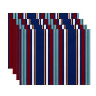 Multi-Stripe Stripe Print Place Mat (Set of 4)