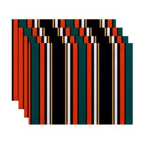 Multi-Stripe Stripe Print Place Mat (Set of 4)