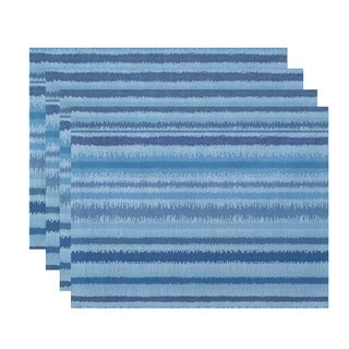 Raya De Agua Stripe Print Place Mat (Set of 4)