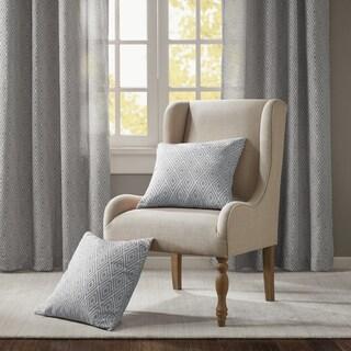 Madison Park Ezra Jacquard Dec Pillow Pair 4-Color Option