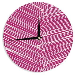 KESS InHouseAnchobee 'Loom' Wall Clock
