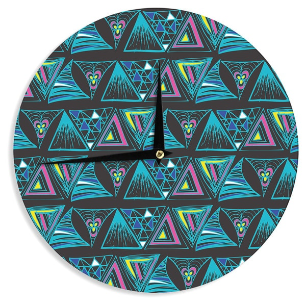 "Kess InHouse Anneline Sophia ""It's Complicated"" Wall Clock 12"""