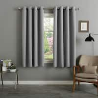 Aurora Home 54-inch Thermal Insulated Blackout Curtain Panels (Set of 2)