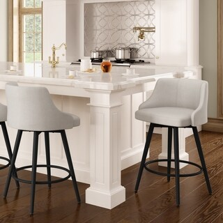 Amisco Duncan Swivel Metal Barstool