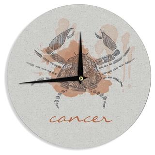 "Kess InHouse Belinda Gillies ""Cancer"" Wall Clock 12"""