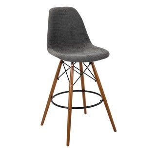 Monarch Gray Barstool