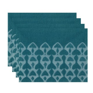 Watermark Geometric Print Place Mat (Set of 4) (3 options available)