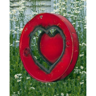 Ruby Barrel Art Love Sign