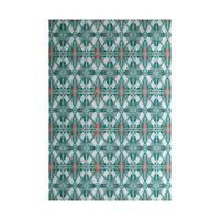Beach Tile Geometric Print Indoor, Outdoor Rug (2' x 3')