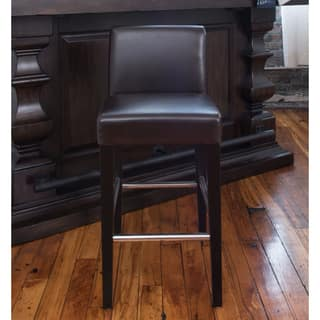City Brown Bonded Leather Counter-height Barstool (As Is Item)|https://ak1.ostkcdn.com/images/products/12898494/P19655921.jpg?impolicy=medium