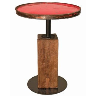 Handmade TF-0999-30-RE Ruby Moonshine Table (Thailand)