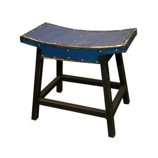 Handmade TF-0996-18-BU Cobalt Coda Saddle Seat (Thailand)