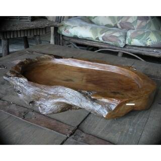 Handmade WA-0064 Whistler's Wood Platter (Thailand)