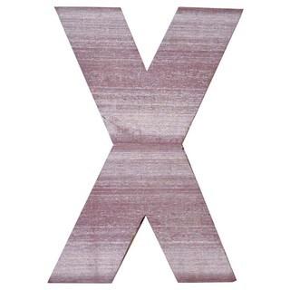 WA-0348-X Sahara Letter 'X' Wall Decor