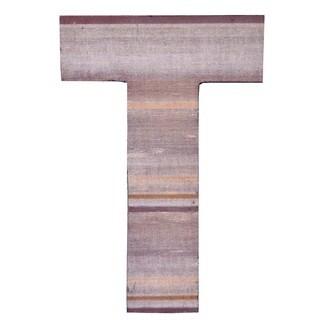 WA-0348-T Sahara Letter 'T' Wall Decor