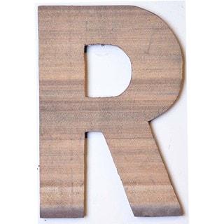 WA-0348-R Sahara Letter 'R' Wall Decor