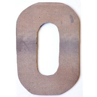 WA-0348-O Sahara Letter 'O' Wall Decor