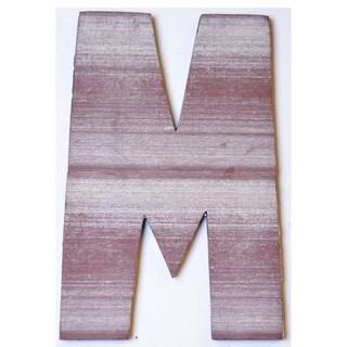 WA-0348-M Sahara Letter 'M' Wall Decor