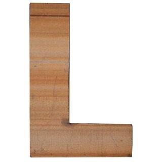 WA-0348-L Sahara Letter 'L' Wall Decor