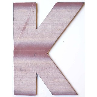 WA-0348-K Sahara Letter 'K' Wall Decor