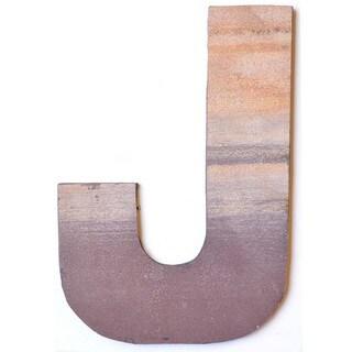 WA-0348-J Sahara Letter 'J' Wall Decor