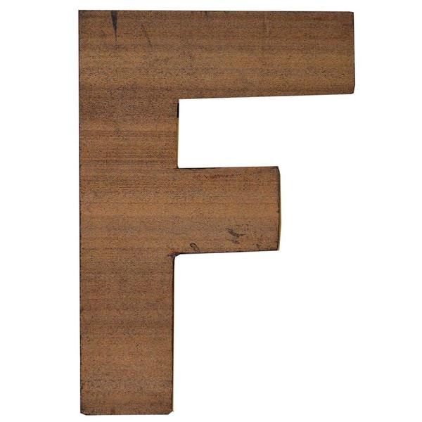 Shop WA-0348-F Sahara Letter \'F\' Wall Decor (Thailand) - Free ...