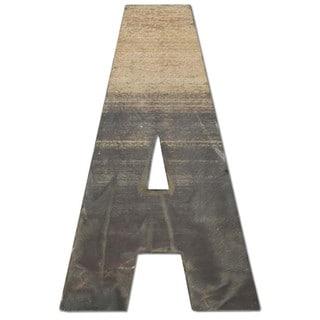 WA-0348-A Sahara Letter 'A' Wall Decor