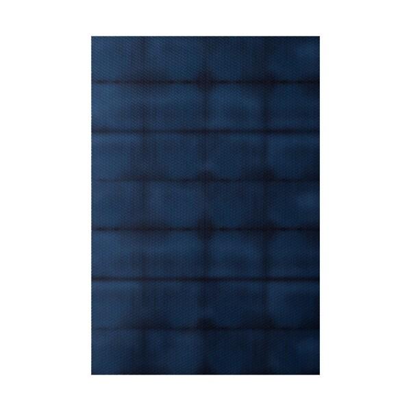 Pool Stripe Print Indoor, Outdoor Rug (2' x 3')