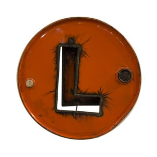WA-0347-L Barrel Letter 'L' Wall Art